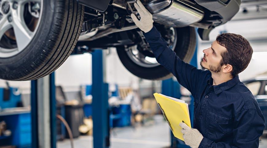 Car servicing and maintenance