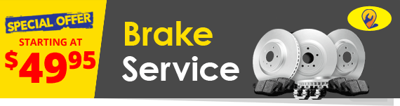 Brake Service. Rotors, Pads, & Fluid