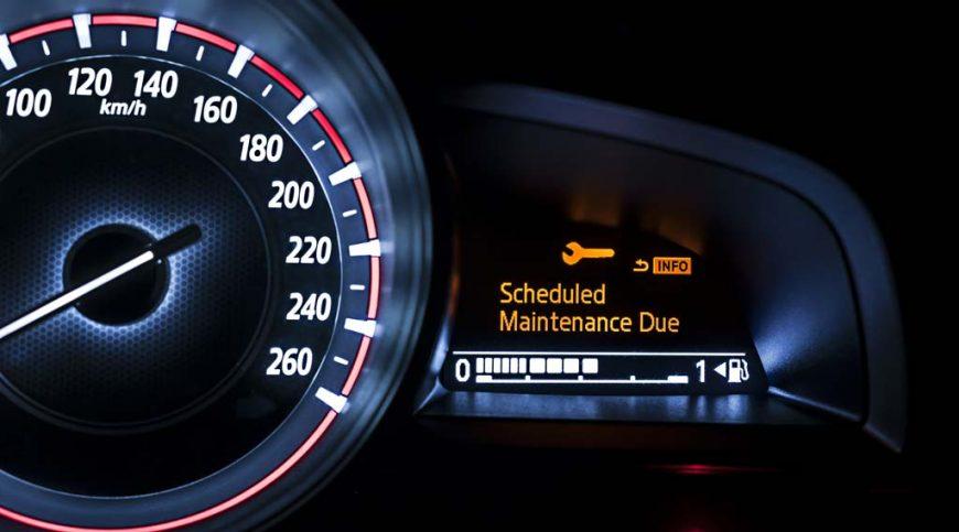 Auto maintenance due